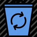 bin, delete, recycle, remove, trash