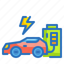 car, ecology, electric, environment, transportation, vehicle icon