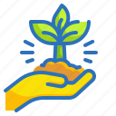 ecology, environment, growth, nature, plant icon