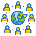 earth, ecology, environment, human, people icon