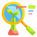 biology, ecology, environment, laboratory, research icon