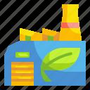 contaminatio, ecology, envionment, factory, pollution icon