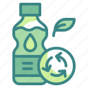 bottle, ecology, environment, nature, recycle icon