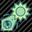astronomy, earth, ecology, sun, universe icon