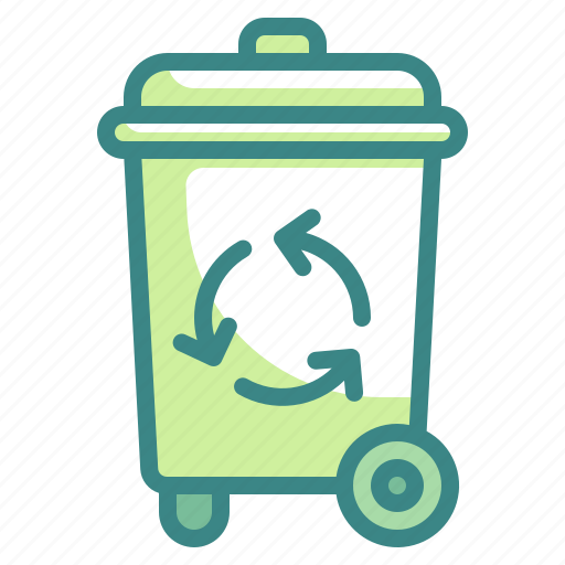 bin, ecology, recycle, recycling, reuse, trash icon