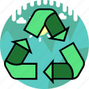 bin, eco, ecology, environment, green, recycle icon