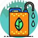 ecology, environment, fertilize, fertilizer, garden, gardening, water icon