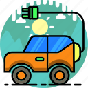 car, ecology, electric, electric car, energy, transport, transportation icon