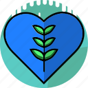 care, ecology, environment, heart, leaf, love, plant