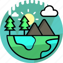 earth, eco, ecology, environment, green, nature, weather icon