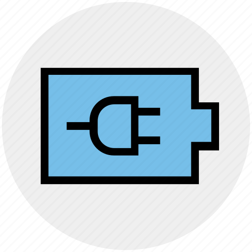battery, charging, ecology, electricity, energy, environment, plug icon