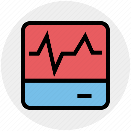 chart, device, ecology, energy, environment, graph, screen icon
