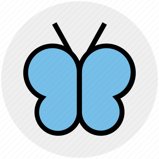 butterfly, cute, eco, ecology, environment, fly, insect icon
