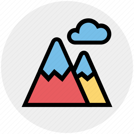 Ecology, environment, mountains, nature, park, weather icon - Download on Iconfinder