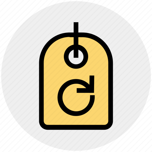 ecology, energy, environment, nature, recycling, rotation, tag icon