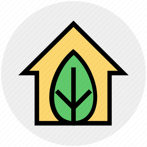 Eco, ecology, environment, green, green house, house, leaf icon - Download on Iconfinder