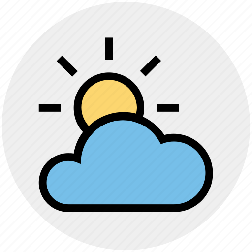 Cloud, cloud sun, ecology, environment, sun, weather icon - Download on Iconfinder
