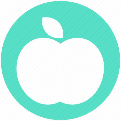 apple, ecology, energy, environment, food, healthy, thin icon