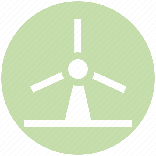 eco, ecology, energy, environment, power, wind, windmill icon
