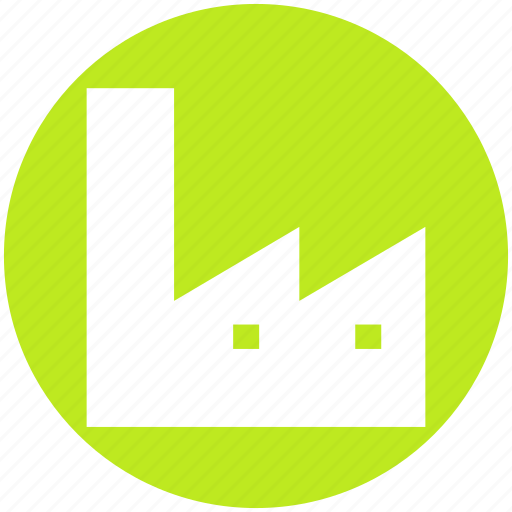 building, ecology, environment, factory, industrial, industry, plant icon