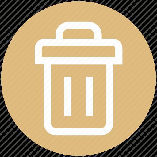 dustbin, eco, ecology, environment, nature, trash icon