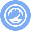 dashboard, ecology, gauge, measure, meter, speed, speedometer icon