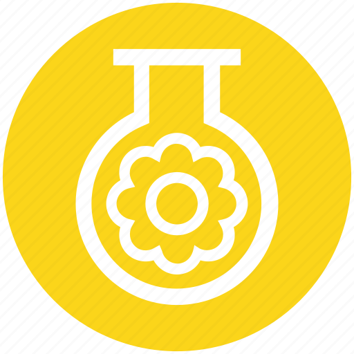 Ecology, energy, environment, flower, test tube, tube icon - Download on Iconfinder
