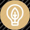 bulb, ecology, energy, environment, idea, innovative, leaf