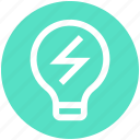bulb, ecology, energy, environment, idea, lamp, light icon