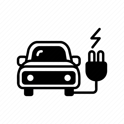 cable, electric car, energy, environment, future, technology, vehicle icon