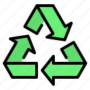 arrows, eco, ecology, recycle, recycling, renewable, reuse