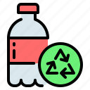 bottle, eco, ecology, plastic, recycle, recycling icon
