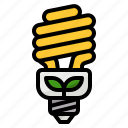 bulb, ecology, light, lighting, power icon