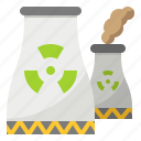 ecology, energy, nuclear, plant, power icon
