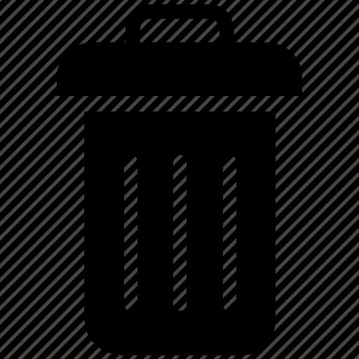 bin, garbage, paper, trash, waste icon