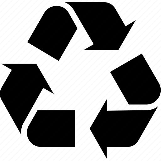 recycle, recycling, sign icon