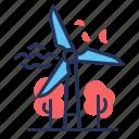 ecology, turbine, wind power, windmill