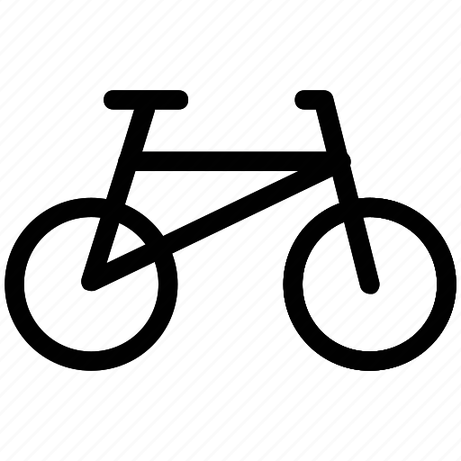 bicycle, bike, cycle, racing bicycle, travel icon