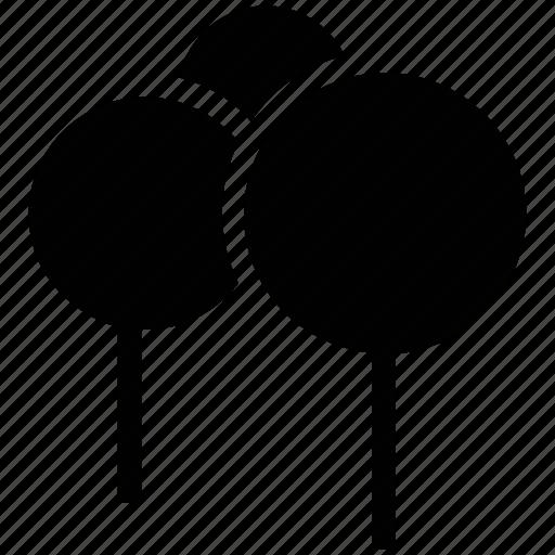 balloons, ecology icon