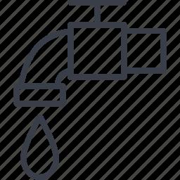 crane, ecology, vodopostachanie, water, water supply icon