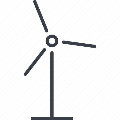 alternative energy source, eco, ecology, wind, windmill icon
