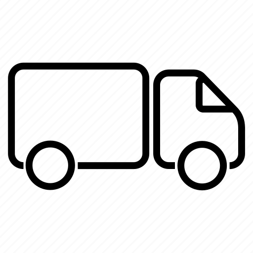 car, delivery, distribution, logistics, transport, truck icon