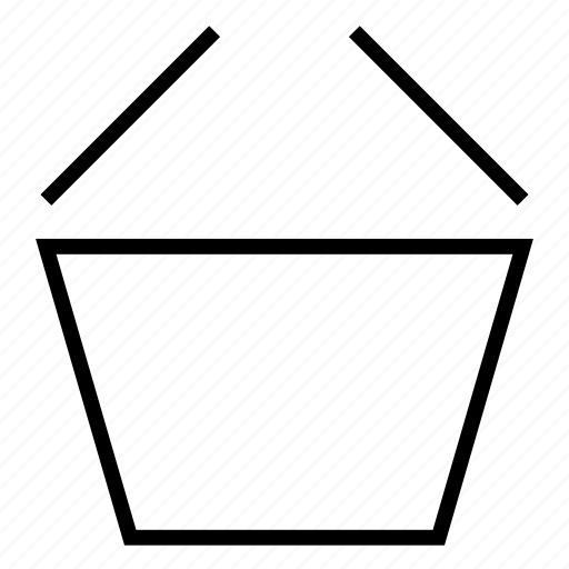 basket, buy, empty, sale, shopping bag, shopping basket icon