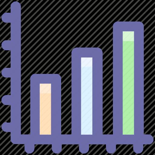 bar, business, chart, dashboard, graph, growth icon
