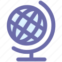 earth, globe, streamline, world, world globe icon