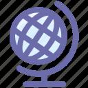 globe, world globe, earth, world icon