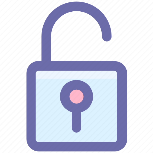 lock, open, padlock, security, unlock icon