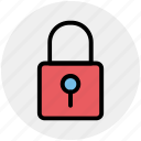 lock, padlock, retro, safe, security icon