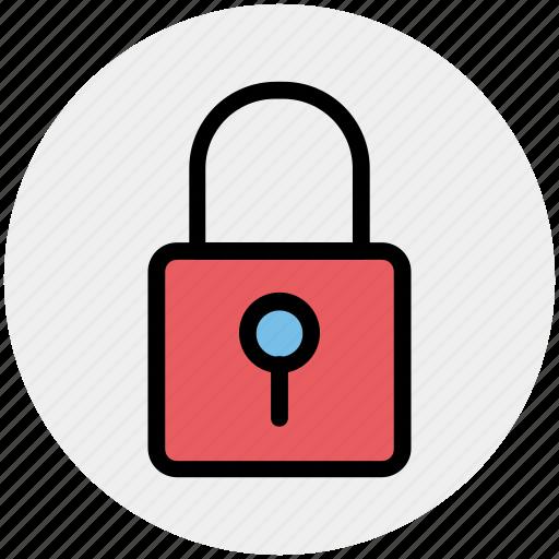 lock, padlock, retro, safe, security icon