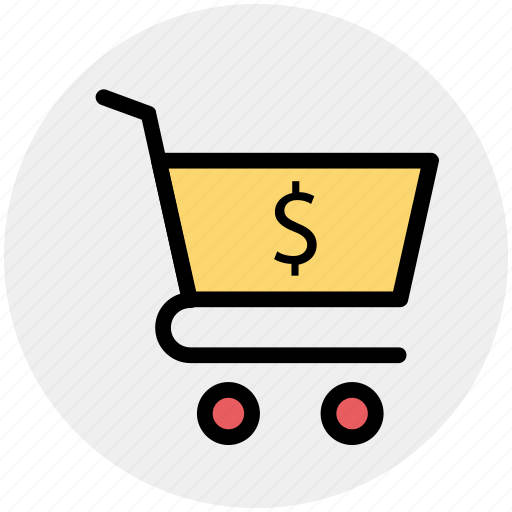 cart, dollar, online shopping, shop, shopping icon